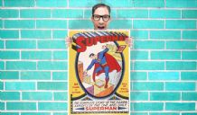 Superman DC Comic Art Work - Wall Art Print Poster Any Size -  Comic Art Geekery